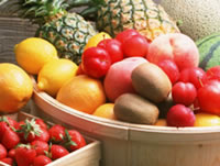 フルーツにも抗酸化物質が入ってます